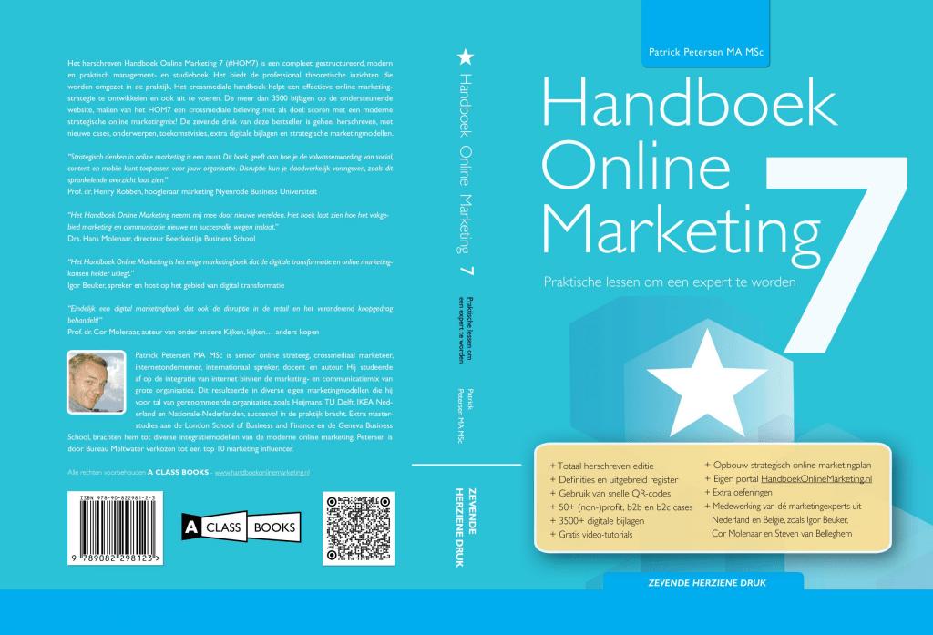 Handboek Online Marketing - ISBN 9789082298123 - Actuele editie 2021-2022 meest volledige online marketingboek, meer dan een basisboek